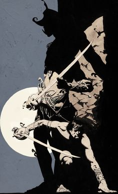 bernie wrightson - cover painting john carter