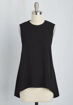 Stay Classic, San Diego Top in Black, #ModCloth