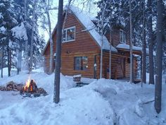 Fairbanks cabin rental