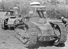 Cairo d'assalto Fiat 3000 A Italian light tank