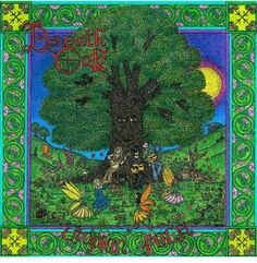 Album cover art by Cherrie Button for Beneath The Oak