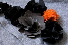 hey jen renee: fabric flower tutorial