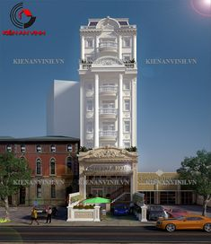 Mẫu thiết kế khách sạn đẹp với kiến trúc cổ điển ở Gia lai