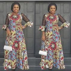 New africa fashion ideas ! Latest African Fashion Dresses, African Print Dresses, African Print Fashion, Africa Fashion, African Dress, African Clothes, Ankara Fashion, Nigerian Dress Styles, Ankara Gown Styles