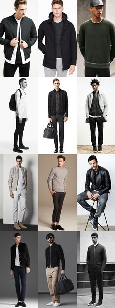 Men's Minimal Casual/Sports Luxe Outfit Inspiration Lookbook