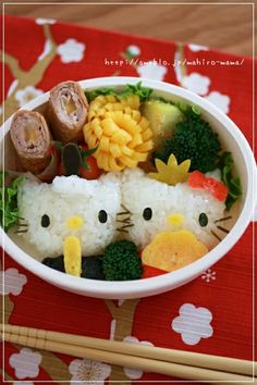 Girls' Day Bento - Hello Kitty Version