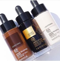 Shade Adjusting Drops The Body Shop Lush Products, Best Makeup Products, Beauty Products, Body Products, Hair Products, The Body Shop Logo, Body Shop Christmas, Beauty Skin, Health And Beauty
