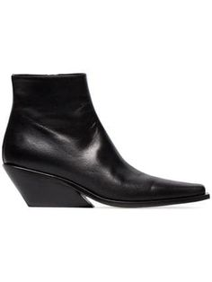df28789ca188 Ann Demeulemeester 50 Leather Ankle Boots