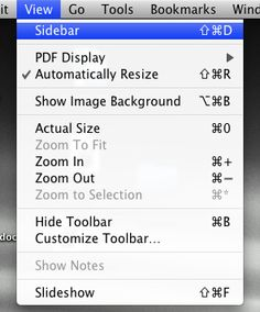 how to merge pdfs in Preview (Mac)