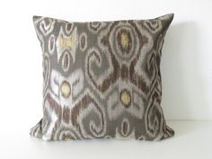 throw pillow covers | Home  Pillows #throwpillowcovers #grayyellowbrown