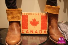 Every chic Canadienne should save up for a pair of classic Roots boots - Oshawa Centre Style Approved by @Real Life Runway - Find it at Roots