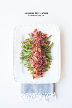 #thanksgiving, #holiday, #christmas, #recipe, #bacon, #bean, #green-bean, #sriracha, #sides