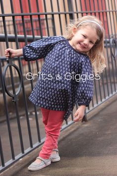 The Abigail Tunic Instant Download by GritsAndGiggles on Etsy. $7.50
