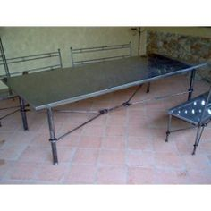 Table wrought iron. Coffee Table. Customize Realizations. 664