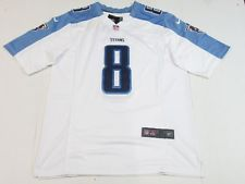 NWT Marcus Mariota  8 Tennessee Titans onField Mens Limited Jersey White  FREE SHIPPING   FREE RETURNS! c48b25f12