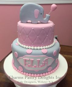 New Baby Shower Cake For Girls Elephant Birthday Parties Ideas Baby Shower Candle Favors, Baby Shower Drinks, Baby Shower Niño, Baby Shower Desserts, Boy Baby Shower Themes, Baby Shower Printables, Baby Shower Cakes, Baby Shower Decorations, Girl Shower