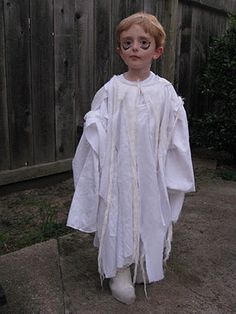 ghost costume ideas  sc 1 st  Pinterest & 75 Cute Homemade Toddler Halloween Costume Ideas | Pinterest ...