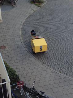 Els carters d'Estocolm van motoritzats
