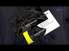This business card is specially designed for the gym owner or the trainer. This creative gym business can be used for coach's, athletes, sportsman and Cool Business Cards, Business Card Mock Up, Business Card Design, Creative Business, Visiting Card Templates, Business Networking, Athletes, Gym, Graphic Design