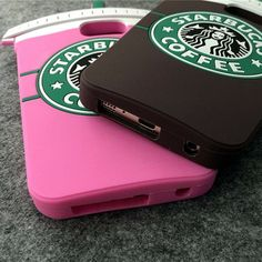 3D Cartoon Starbucks Coffee Silicone Skin Cover Case For Samsung Galaxy S6 /Edge