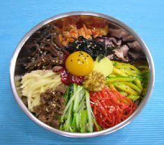 비빔밥 Mixed Veges & Egg Rice