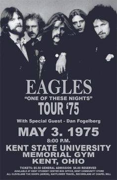 THE EAGLES.second highest earning touring band of The Eagles Concert Poster /FromTheWaybackMachine The Eagles, Eagles Band, Eagles Music, Rock And Roll, Pop Rock, Rock Posters, Band Posters, Event Posters, Festival Posters