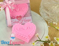 Sabonete Casamento Coração