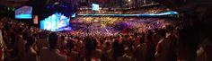 It's a full house! Arena packed with International Walmart Associates at Shareholders [2013]