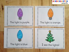 Christmas Lights Book - FREEBIE!                                                                                                                                                                                 More