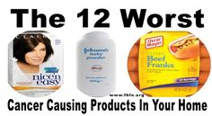 The Absolutely 12 Worst Cancer Causing Products In Your Home, You Should Never Use!