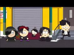 South Park The Stick of Truth Goth Kids