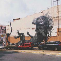 #Mural #PuertoRico #Streetart