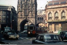 1966 1966 Czech Republic 1966 Prague , Czech Republic 13,268 2 3,395 , Prague Prague Transport, Prague Czech, Retro, Czech Republic, Big Ben, Transportation, Street View, History, Building