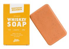 What you need to know about our Kentucky Bourbon Whiskey Soap: Bourbon Gifts, Whiskey Gifts, Bourbon Whiskey, Funny Office Gifts, Good Or Well, Beer Soap, Cupcake Gift, Best Gifts For Men, Best Birthday Gifts