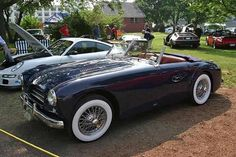 Extensive collection of valuable old cars and many of the most unique autos ever created! Fine specimens of beautiful automobiles Buy Classic Cars, Classic Cars Online, Vintage Sports Cars, Vintage Cars, Retro Cars, Vintage Signs, Cars For Sale Uk, Automobile, Car Signs