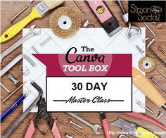 Want to create your own graphics from scratch? Simon Says Social's Canva ToolBox 30 Day Master Class is just for you. This ultimate course contains all of the obvious and not-so-obvious best practices of graphics design. Think of this course as your key to creating your own graphics with any skill set.