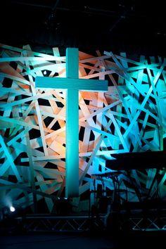Pick-Up Sticks | Church Stage Design Ideas