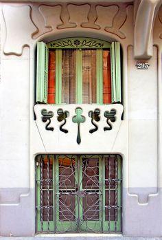 Casa Leonor Matas  1900  Architect: Jeroni Francesc Granell i Manresa