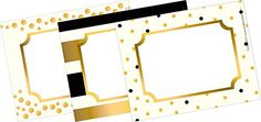 """Barker Creek - Office Products 3-1/2 x 2-3/4"""" Name Badges…"""