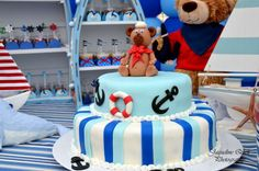 Sailor/nautical Birthday Party Ideas | Photo 1 of 14 | Catch My Party