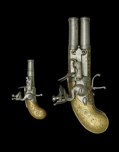 A Very Rare All-Metal Working Miniature Flintlock Pocket Pistol Of Niquet/Devillers Type Circa 1740-50, Almost Certainly Liège