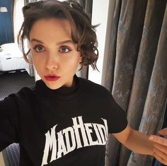 """MAD HEIDI on Instagram: """"Heidi wearing Heidi merchandise! Order yours now on madheidi.com and become part of the first Swissploitation film! @madheidimovie 👈"""" You Now, The One, Mad, Film, How To Wear, Instagram, Movie, Film Stock, Cinema"""