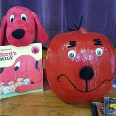Pumpkin Book Report - Clifford
