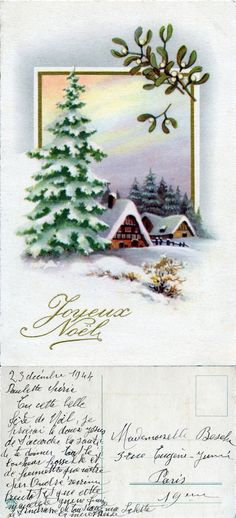 Cartes De Noël Hiver Coucher de soleil mouton boîte de 20