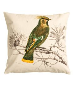This is a fantastic cushion I saw in a magazine, unfortunately only available at H&M in the UK. Canada H&M is crap.