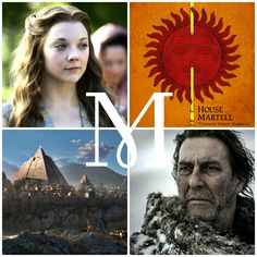 M is for … … Margaery Tyrell, House Martell, Mance Rayder, and Mereen