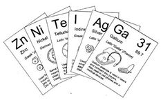 Science – Quick Six Elements Card Game I found this free elements game, Quick Six, via the blog Half A Hundred Acre Wood. I immediately thought it would appeal to the boys & printed it out.  Even if we don't play the game, the flashcards would be great for review & for laying out the periodic table …