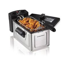 Electric Tabletop Deep Fryer Basket Restaurant ** Check this awesome product by going to the link at the image.