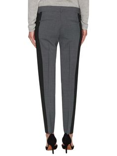 Wool Contrast Colorblock Pant by Vince at Gilt