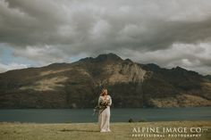 Gorgeous Boho Bride Kirsty. Wedding Photography in New Zealand by Alpine Image Company and planning by Boutique Weddings New Zealand